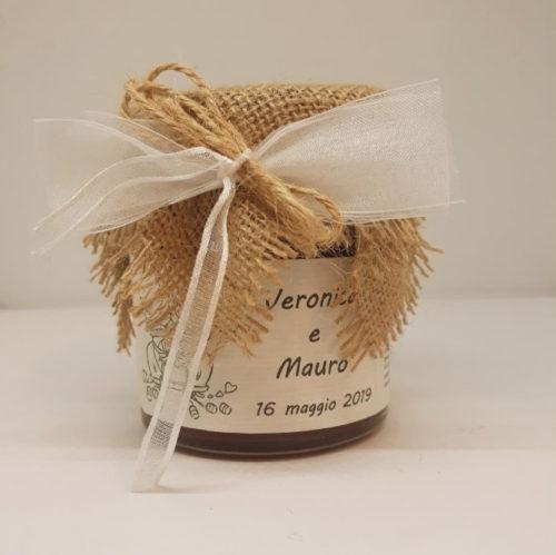 Bomboniera matrimonio – marmellata ai frutti di bosco – MACCHINA SPOSI