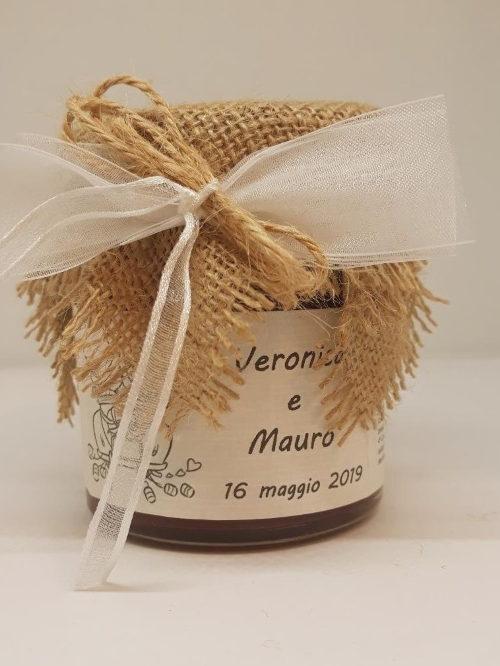 Bomboniera matrimonio - marmellata ai frutti di bosco - MACCHINA SPOSI